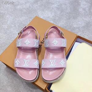 22019 nuove signore sandali gladiatore estate sandali fashion designer moda sandali donna di design di lusso taglia 35-40 1022
