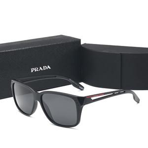 PRADA 1982 Luxo Designer Men Estilos de chifre de búfalo Óculos Madeira Óculos de Sol de Verão Moda Marca óculos de sol desenhador para mulheres dos homens com caixa Óculos de fora