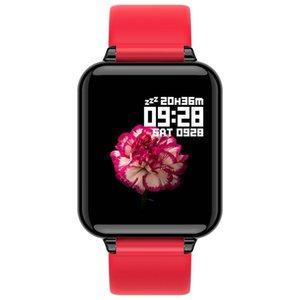 B57 Taxa de mulheres Smartwatch Smartwatch Smart Sangue À Prova D 'Água Coração Homens Android Phone Telefone Sport Sport Fitness Monitor Pressão Temperatura Watche BSQQ