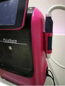 Fabbrica fornitura 1064nm 532 nm 755nm 1320 nm quattro punte laser Pico / Picolaser, laser picosecondo portatile con manico importati