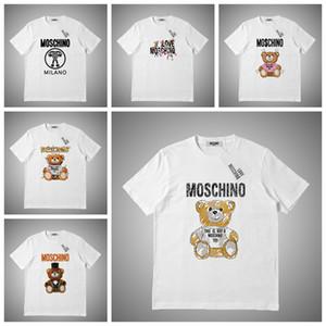Moschino Luxus Sommer T-shirt Mode Animal Print Herren Designer T-shirt Kurzen Ärmeln Männer Frauen Hohe Qualität Casual Tees # 786321