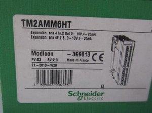 Оригинал ПЛК Schneider Аналоговый смешанный модуль ввода / вывода TM2AMM6HT Бесплатная ускоренная доставка Новый в коробке