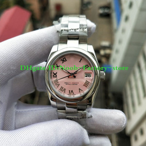 Fábrica Ladies real disparo Moda DATEJUST numerais romanos clássico do estilo de relógios de presente de Natal 31 milímetros 17824 Mulheres Automatic Assista Watche