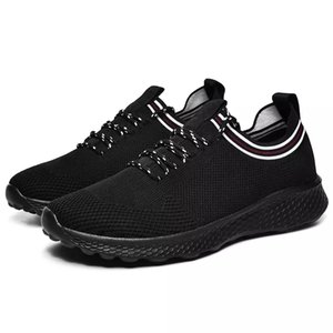 with free socks NEW Designer white black blue men special section sports sneaker increased Breathable Jogging running shoes size 36-44