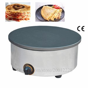 "Gas Crepe Machine Pancake Griddle Omelettes Blinis Tacos Baker Banh Xeo Jianbing Maker Nonstick Cooking Surface 15.7"" Pan"