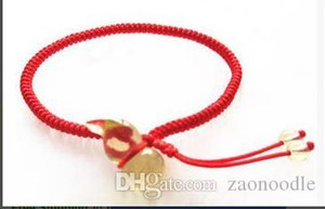 Red String-Armband-Charme Citrine Armband Femme Adjustable Naturstein Crystal Red String Jade Linie