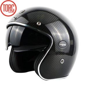 Professionale Light Weight casco della bici del PUNTINO ECE ha approvato in fibra di carbonio moto casco TORC V587 serie chopper moto