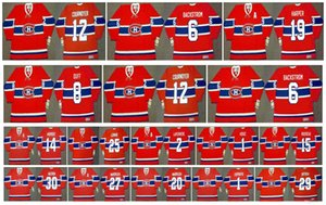 Vintage Montreal Canadiens Jersey 25 JACQUES LEMAIRE 14 CLAUDE PROVOST 2 JACQUES LAPERRIERE 1 CHARLIE HODGE 15 BOBBY ROUSSEAU Custom Hockey