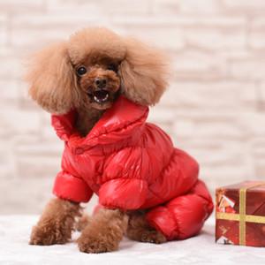 Pet chien vêtements vêtements d'hiver à quatre pattes chaudes petit chien Chihuahua bouledogue français Mandala costume d'Halloween costume cinq couleurs de Noël