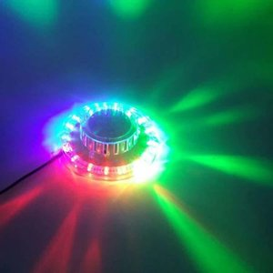 ديسكو Laser Light Rgb Projector Party Lights DJ Lighting Effect for Sale LED for Home Wedding Decoration
