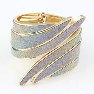 Punk Style Avaliable Exaggerated Angel Wings Three Half-width Opening Bracelet Fashion Jewelry Accessories for Women