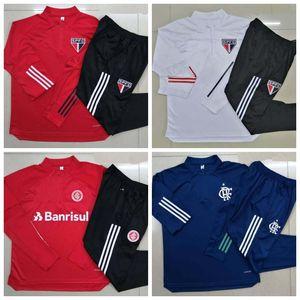 Brezilya Sao paulo futbol eşofman ceket 2020 Flamengo futbol Eğitimi takım chándal ceketler 20 21 camisas de futebol Brasil Internacional