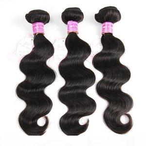 Dhgate Vendeur Bemiss Vierge cheveux humains non transformés Tissages corps noir naturel vague malaisienne Indien péruvien Mongolie cambodgienne Bundles cheveux