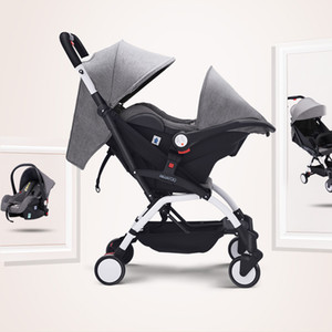 Baby Stroller 3 in 1 stroller lightweight Safety basket portable car seat factory direct multi-function cart