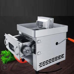 tipo de tracción precio al por mayor de acero inoxidable máquina de cortar carne fresca / trituradora de carne y vegetales / extraíble en rodajas rallado y picado