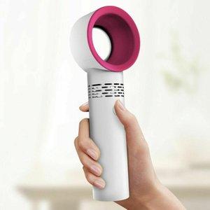 Fan taşınabilir Kanatsız elektrik kablosuz USB Mini taşınabilir fan pratik taşınabilir Mini Cooler Yok Yaprak fanı