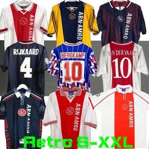 1994 1995 Ajax retro Fußball-Trikot 94 95 96 Rijkaard Kluivert Litmanen SEEDORF DAVIDS OVERMARS 04 05 Fußball 1989 Hemd BABEL 97 98 99 2000