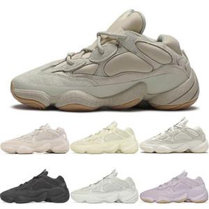boost 500 SıCAK satış Kanye West 500 ayakkabı Süper Ay Sarı Allık Çöl Sıçan 500 s Erkek tasarımcı ayakkabı Kadın eğitmenler spor Sneakers boyut 12 13