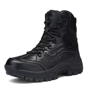 Professionnelle masculine Tactical Combat Chaussures de randonnée respirante imperméable armée Bottes Botas Militares Sapatos Masculino