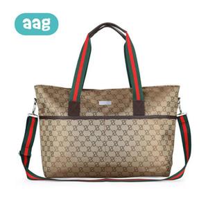 AAG European Fashion Mummy Bag Messenger grande capacità pannolino del bambino di cura Borse Zipper maternità borse a tracolla borsa da viaggio 30