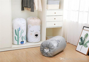 Pliable Vêtements sac de rangement vêtements Blanket Couettes Penderie Sweater Organisateur Sac Sous-vêtements bagages Voyage Boîte de rangement