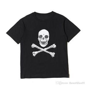 18SS so schnell wie möglich ROCKY Christmaas T Mode-Schwarz-Schädel Printed Herren Designer-T-Shirts Männer Frauen Short Sleeve Designer Shirts Größe S-XL