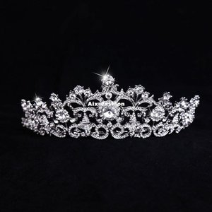 2017 Hot Sale Bridal Hairbands Crystal Headbands Women Hair Jewelry Fashion Wedding Hair Accessories Crystal Tiaras And Crowns Headpieces