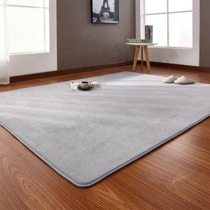 Area rug For Children Bedroom Rugs Yoga Mats Doormat Big rectangle Carpet For Living Room White Black Blue Gray Gift Hotel Y200527