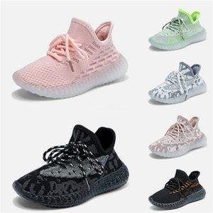 2020 Nueva Fashiony3 Zapatos Casual Botas Kanye West Y-3 Rojo Blanco Negro de alta Top zapatillas de deporte de los niños impermeable de cuero genuino # 882