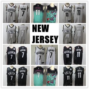 2020 CITY jerseys shirts Kevin 7 Durant Kyrie Irving basketball 11 hot sale stitched Drazen 3 Petrovic 72 Biggie