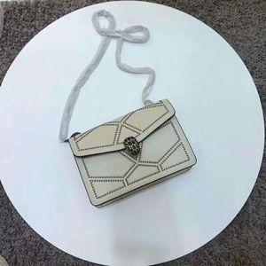 2020Brand nueva marca de calidad de cuero de lujo de la cartera diagonal bolsa de straddle diseñador senior de lujo de las mujeres del hombro del bolso