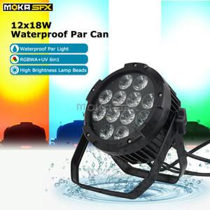 Outdoor LED Luz Dj Equipamento LED Par Wash Luz 12x18W remoto APP LED Controle Par Luz Iluminação Profissional para o partido da mostra