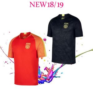 2018/19 китайский черный дракон футбол Джерси черный футбол Джерси китайская национальная команда черный дракон Джерси национальная футбольная форма
