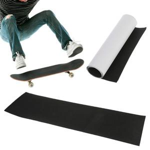 Professionnel Noir Skateboard Deck Ruban Adhésif En Papier De Verre Pour Planche À Rouler Longboarding 83 * 23cm quantité élevée