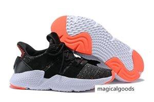 Высокое качество оригиналов Prophere Climacool EQT 4s Четыре поколения неуклюжим обуви спортивные кроссовки черные повседневные туфли Размер 40-45new