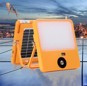 Солнечный свет Портативный Прожектор USB аккумуляторная Открытый сад свет работы Прожектор Прожектор Встроенный в сильных магнитных Адсорбция