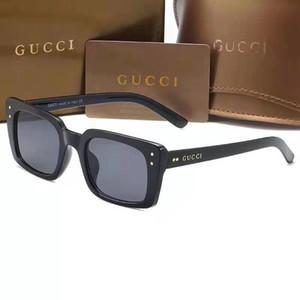 las gafas de sol de marca populares para las mujeres 0539 mujeres grandes del estilo del marco del diseño de Italia los hombres unisex gafas de sol de conducción galsses sombra de las gafas