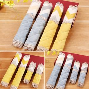 Mode Tissu épais couverture pour poignée réfrigérateur congélateur poignée de porte réfrigérateur Gants Tissu Doorknob Gants anti-poussières