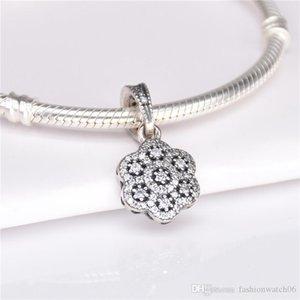 Luxury jewelry pendant 390392CZ S925 sterling silver pendant Necklaces Pendants for bracelets necklaces 2cm pendant