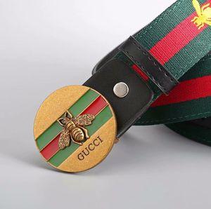 2018 Venta Caliente Nuevo Diseñador Cinturones Famosos Hombres Mujeres Cinturones Correa de Cintura Masculina Cinturón de Hebilla de Aleación de Cuero Genuino Para Regalo