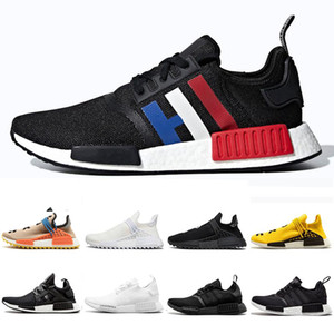 2020 NMD R1 hu Human Race XR1 Hommes Chaussures de course Pharrell Williams Oreo OG Classique nMDS Femmes Japon Sport Baskets Sneakers Taille 36-45