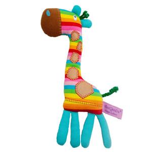 1PC Sevimli Peluş Zürafa Oyuncaklar Yumuşak Renkli Hayvan Sevgili Doll Kawaii Nokta Oyuncak İçin Bebek Çocuk Çocuk Kız Doğum Hediye