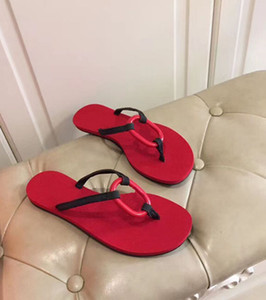 2020 top designer slippers fashion loop herringbone leather beach slippers indoor bathroom shoes sandals shopping party women 0879
