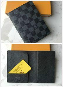 M60181 PASSAPORTE tampa da caixa do Designer Moda Unissex Viagem ID Card Titular Organizador do bolso Protector Key Pouch Cle Pochette Carteira múltipla