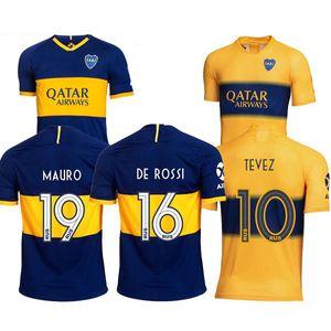 2018 2019 2020 Boca Juniors camisetas de fútbol 19 20 DE ROSSI 16 MARADONA TEVEZ CARLITOS BENEDETTO CAMISA FUTEBOL Jersey CARLITOS camiseta de fútbol