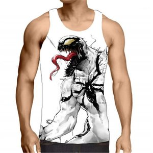 Printing Vest Fashion Summer Starry Sky Loose Casual Tank Tops Designer New Male Sports Vest Clothing Man 3D Forest