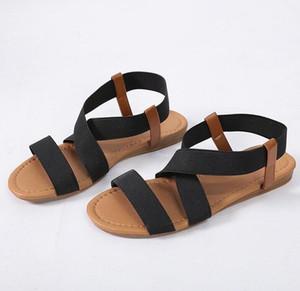 women sandals 2019 hot fashion Women Summer Beach Roman Sandal ladies Open Toe flat sandal Casual female shoes