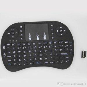 Venta caliente teclado ratón de la mosca para Google TV Mini PC táctil ardilla voladora A21 2.4G Qwerty WiFi con Smart TV A21 RII I8