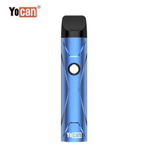 포트 충전 원래 Yocan X Ecig 집중 기화기 500mah 포드 시스템 기화기 조정 전압 기술 석영 이중 코일 유형-C