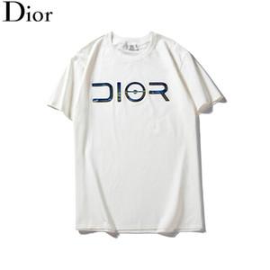Mens Designer T-Shirts Awsome Classique Grand D Laser Print Pull D'été À Manches Courtes Top Marque De Mode Blouses Casual O Cou Femmes B100075L